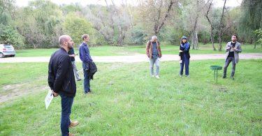 Poză de la discuția publică din Parcul Calea Orhei. Sursa foto: www.privesc.eu